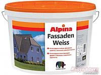 Фасадная краска Alpina Fassadenweis B3 2.35 л