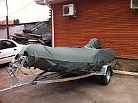 Тент на ПВХ лодку с чехлом на двигатель. из Кордуры 1000D