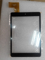 Оригинальный тачскрин / сенсор (сенсорное стекло) для Explay SM2 3G (черный цвет, тип 1, самоклейка)
