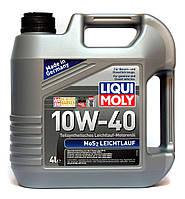 Liqui Moly MoS2 Leichtlauf SAE 10W-40 полусинтетическое моторное масло - 4 л.