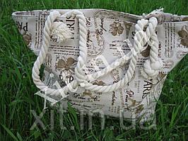 Пляжная сумка paris