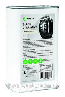 """Полироль для шин Grass """"Black brilliance"""", 1 л."""