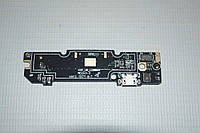 Шлейф (Flat cable) с коннектором зарядки, микрофона для Xiaomi Redmi Note 3