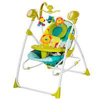 Качель для малышей М 1540-4 с электроприводом, пульт управления