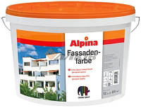 Фасадная краска Alpina Fassadenfarbe 10 л