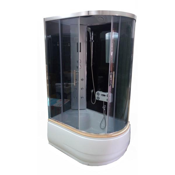 Душевой бокс ATLANTIS AKL-120P GR L 120x80