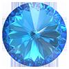 Риволи Preciosa (Чехия) ss29 Сrystal Bermuda Blue