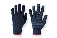 Синтетические рабочие перчатки Синтетика Синяя