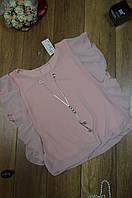 Женская блуза под резинку с украшением Италия