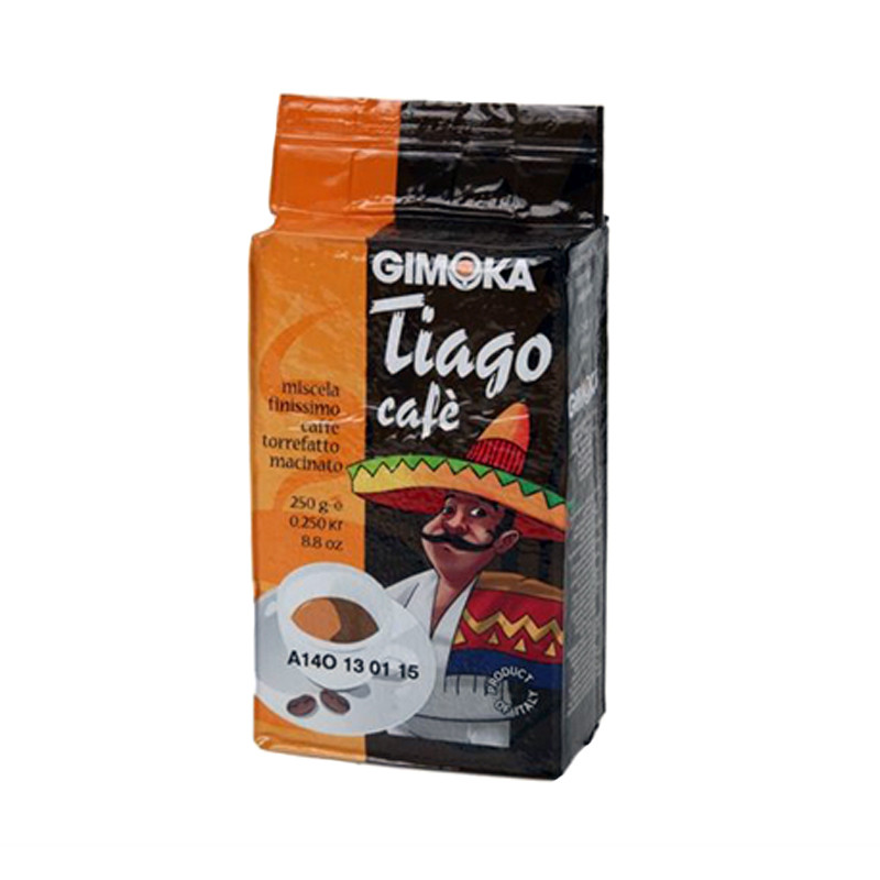 Кофе молотый Gimoka Tiago 250гр