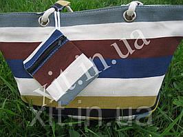 Пляжная сумка с кошельком, Радуга