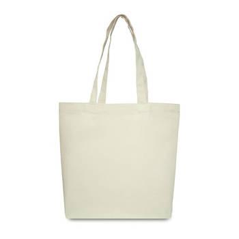 Еко-сумка для друку 42х12х35 див. Трапеція округлені краю. Бавовна