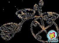 """Кованая подставка для цветов """"ВЕЛОСИПЕД 3"""""""