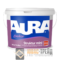 ТМ Aura Dekor Struktur mini -  структурная акрилатная краска (ТМ Аура Декор Структур Мини)