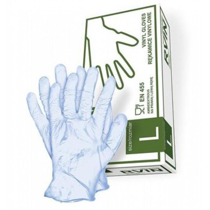 Вниловые рукавички Rvin