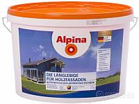 Краска для деревянных фасадов Alpina Die Langlebige für Holzfassaden B3 2,35 л