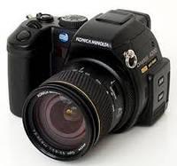 Ремонт цифровых фотоаппаратов Konica Minolta