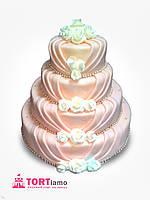 """Свадебный торт на заказ """"Бусы изобилия"""""""
