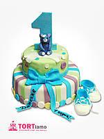"Детский торт на заказ ""1 годик"" в Днепропетровске"