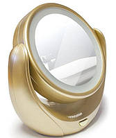 Зеркало косметическое LED 5x zoom Mesko MS 2164
