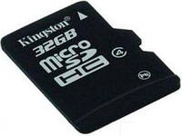 Карта памяти kingston microsdhc 32 Гб class 4 single-pack card (sdc4/32gbsp)