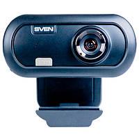 Веб-камера 0.3 Мп с микрофоном Sven IC-950 HD Black (IC-950HD (SVEN) - веб-камера)
