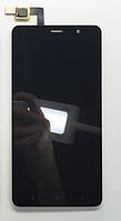 Оригинальный дисплей (модуль) + тачскрин (сенсор) для Xiaomi Redmi Note 3 (черный цвет, 147*73mm)