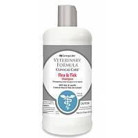 Veterinary Formula Flea&Tick Shampoo ВЕТЕРИНАРНАЯ ФОРМУЛА ШАМПУНЬ ОТ БЛОХ И КЛЕЩЕЙ для собак, с алоэ и ланолином