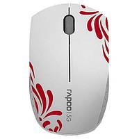 Мышка беспроводная Rapoo Wireless Optical Mini Mouse (3300p) White (3300p white)