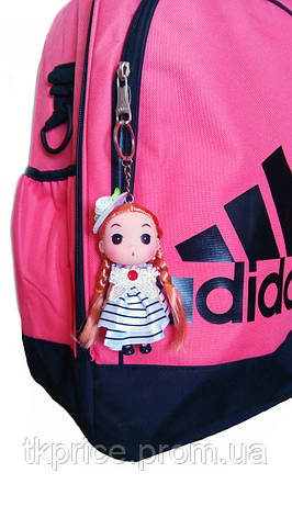 Кукла - брелок на сумку красная, фото 2