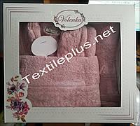 Женский халат с полотенцами Volenka Турция