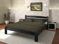 Кровать двуспальная Дональд из массива бука