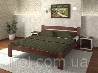 Ліжко односпальне Дональд з масиву бука
