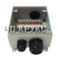 Клеммная коробка КК-8, 8 клемм 150А