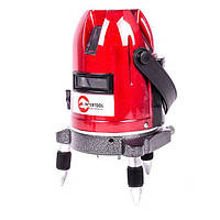 Нивелир лазерный профессиональный, 5 лазерных головок, звуковая индикация INTERTOOL MT-3011