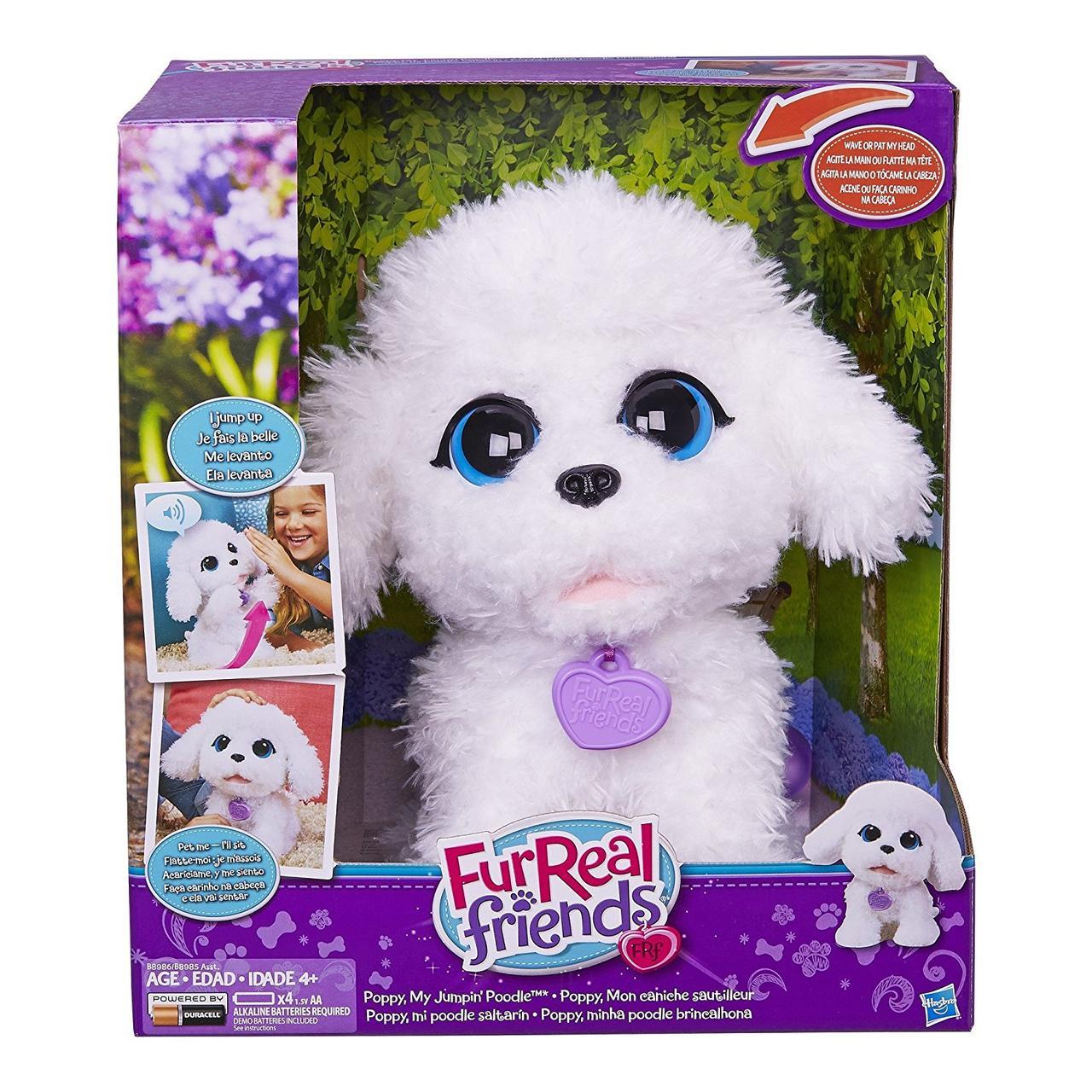 Интерактивный щенок пудель FurReal Friends Poppy My Jumpin' Poodle