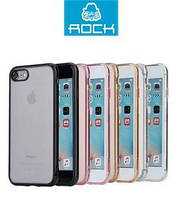 Накладка для iPhone 7 TPU + PC Rock Pure Series Золотой