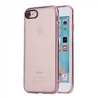 Накладка для iPhone 7 TPU + PC Rock Pure Series Розовый
