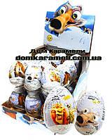 Шоколадное яйцо Ледниковый период 25 гр; 24 шт (ANL)