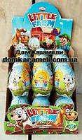 Шоколадное яйцо Маленькая ферма (Litltle farm) 24 шт; 25 гр (ANL)