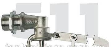 """Поплавковый клапан 3/4"""" (без поплавка) из штампованной латуни FARG 511, фото 2"""