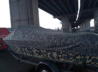 Тент для лодки прогресс транспортировочный. Тент на лодку казанка транспортировочный.