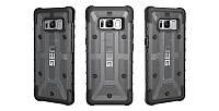 Накладка для Samsung Galaxy S8 G950 Urban Armor Gear (защитный) Plasma Case Ash Прозрачный (GLXS8-L-AS)