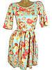 Яркое летнее платье в цветы (в расцветках 42-46), фото 2