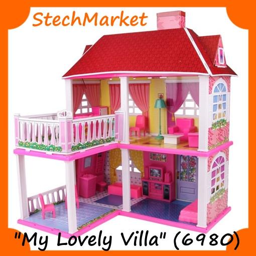 Кукольный домик для куклы My Lovely Villa 6980