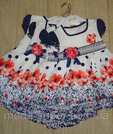 Детское платье Маки, фото 2