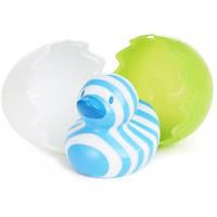 Игрушка для ванной Уточка в скорлупе Голубо-белая Munchkin