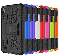PC + TPU чехол Armor для LG X Style (8 цветов)