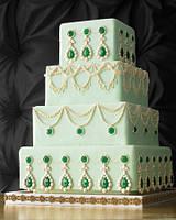 """Свадебный торт на заказ """"Богатство"""""""