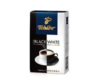 Кофе молотый Tchibo Black&White 250гр